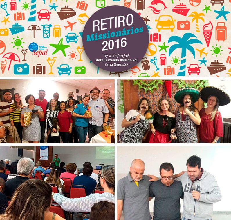 Retiro missionários 2016