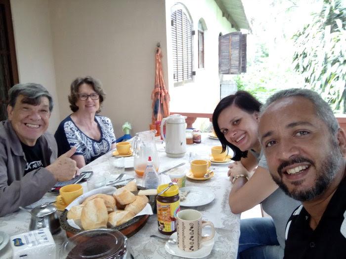 Da esquerda para a direita: Jasiel e Ivone Botelho, Vacilius e Mara.