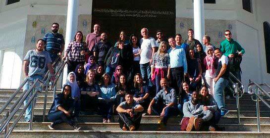 Roger participou do curso de Islamismo Popular, promovido pela MEAB (Missão Evangélica Árabe do Brasil) em Foz do Iguaçu.
