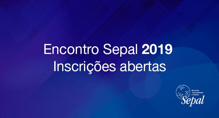 Encontro Sepal 2019
