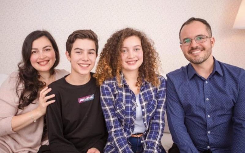 Foto atual da família em jun/2020